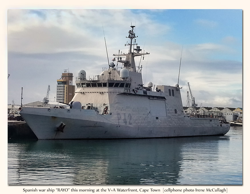 Spanish Warship Rayo