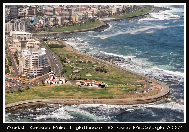 Green Point Lighthouse Aerial